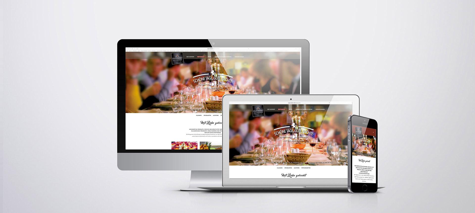 Hofwirt - Webseite