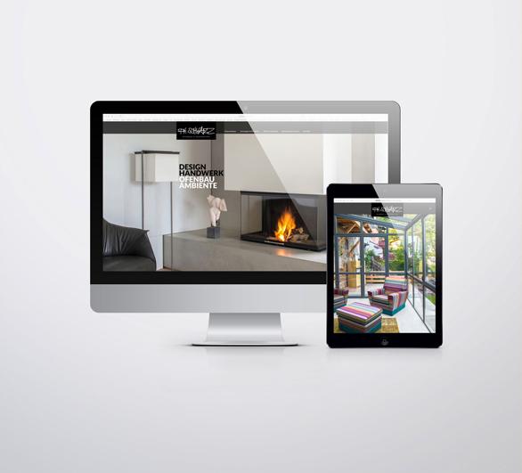 Ofenbauschwarz - Webseite